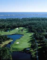 Peninsula Golf & Racquet Club: Aerial view