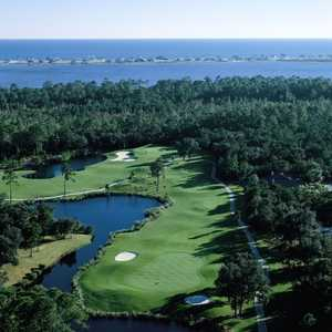 Peninsula Golf & Racquet Club: Aerial view