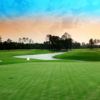 A view of a green at National Golf Club of Louisiana