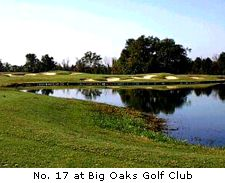 No. 17 at Big Oaks Golf Club