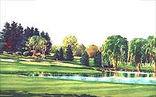 Oakland Hills Country Club, Michigan - Robert Trent Jones Golf Course