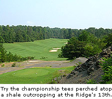 Hole No.13 at The Ridge