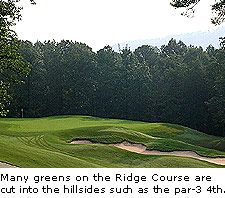 Hole No.4 at The Ridge
