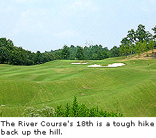 Hole No.18 at The Ridge